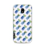 Casetastic Softcover Samsung Galaxy J3 (2017)  - Blue Pineapples