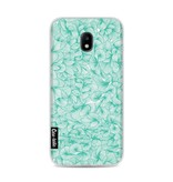 Casetastic Softcover Samsung Galaxy J3 (2017)  - Abstract Pattern Turquoise
