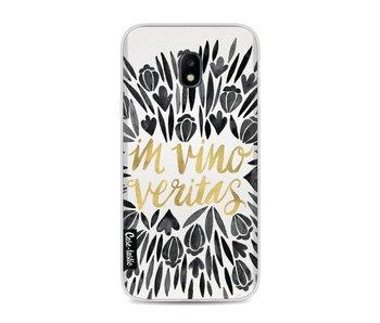 Black Vino Veritas Artprint - Samsung Galaxy J3 (2017)