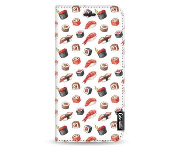 All The Sushi - Wallet Case White Samsung Galaxy J3 (2017)