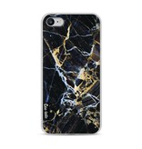 Casetastic Softcover Apple iPhone 8 - Black Gold Marble