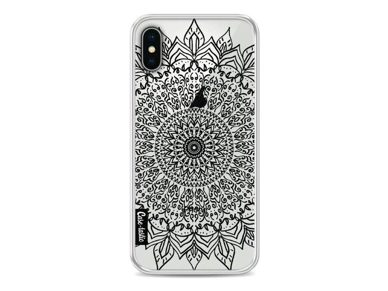 Casetastic Softcover Apple iPhone X - Black Mandala