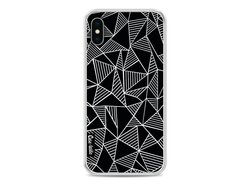 Casetastic Softcover Apple iPhone X - Abstraction Lines Black