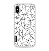 Casetastic Softcover Apple iPhone X - Abstraction Outline