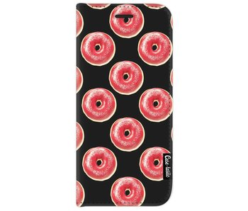 All The Donuts - Wallet Case Black Samsung Galaxy J7 (2017)