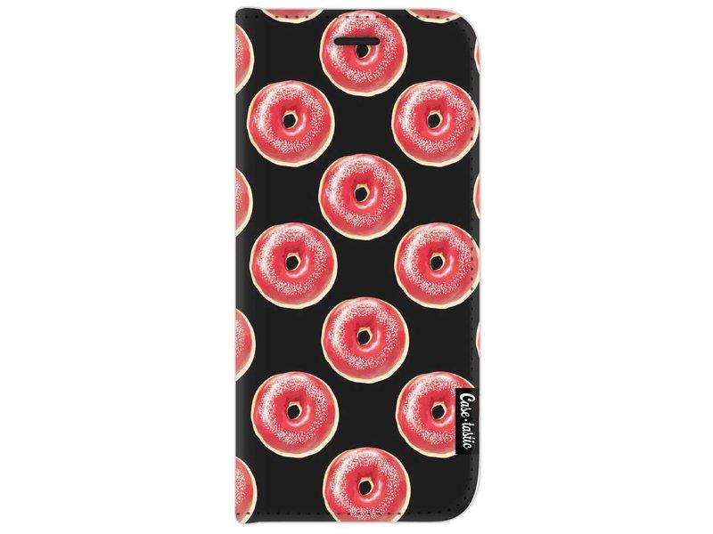Casetastic Wallet Case Black Samsung Galaxy J7 (2017) - All The Donuts
