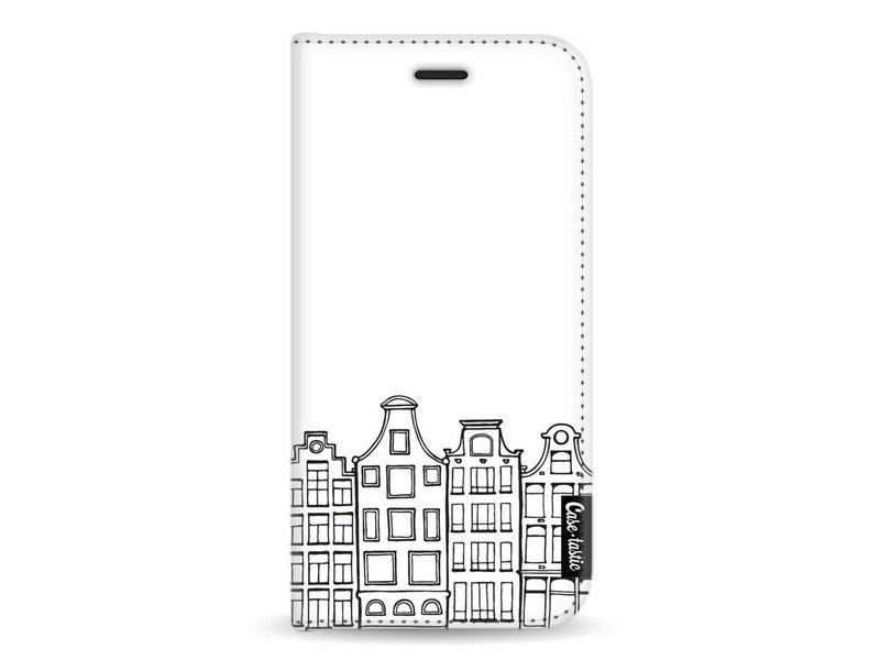 Casetastic Wallet Case White Apple iPhone X - Amsterdam Canal Houses