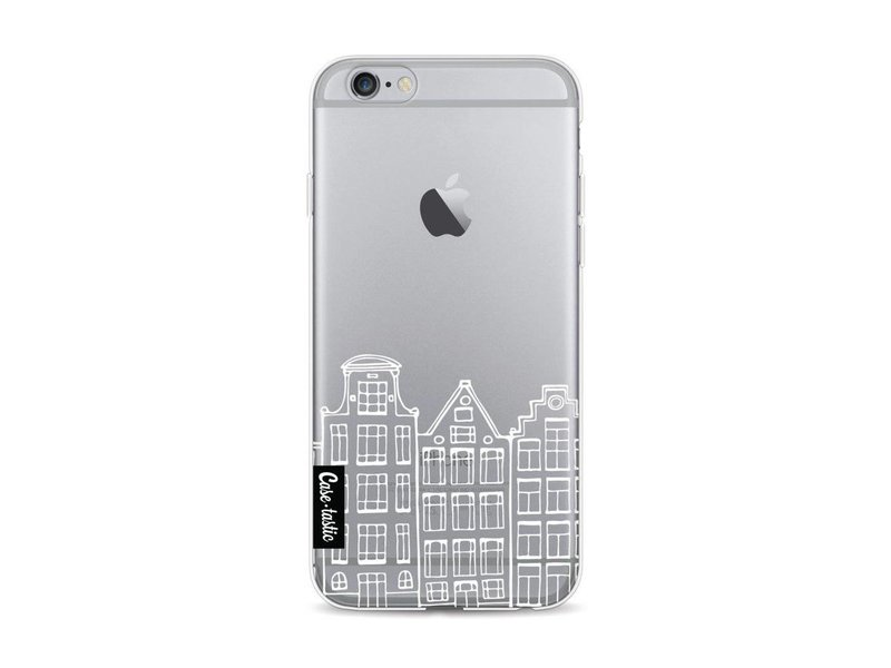 Casetastic Softcover Apple iPhone 6 / 6s - Amsterdam Canal Houses White