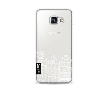 Amsterdam Canal Houses White - Samsung Galaxy A3 (2016)