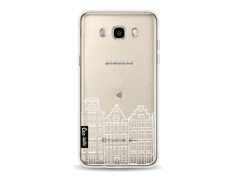 Casetastic Softcover Samsung Galaxy J5 (2016) - Amsterdam Canal Houses White
