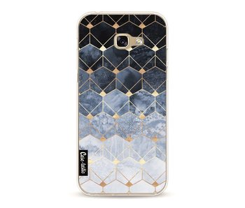 Blue Hexagon Diamonds - Samsung Galaxy A5 (2017)