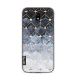 Casetastic Softcover Samsung Galaxy J5 (2017) - Blue Hexagon Diamonds