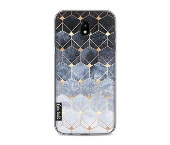 Blue Hexagon Diamonds - Samsung Galaxy J5 (2017)