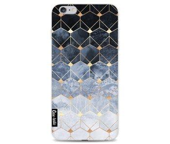 Blue Hexagon Diamonds - Apple iPhone 6 Plus / 6s Plus