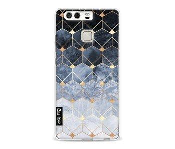 Blue Hexagon Diamonds - Huawei P9