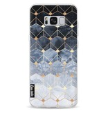 Casetastic Softcover Samsung Galaxy S8 Plus - Blue Hexagon Diamonds