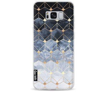 Blue Hexagon Diamonds - Samsung Galaxy S8 Plus