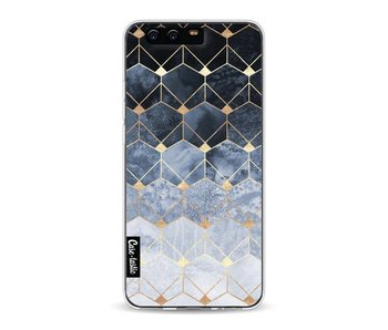 Blue Hexagon Diamonds - Huawei P10
