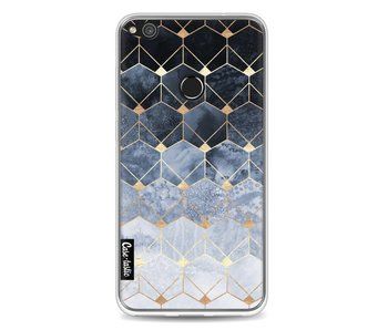 Blue Hexagon Diamonds - Huawei P8 Lite (2017)