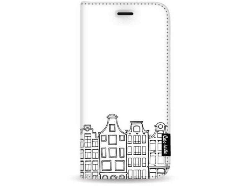 Casetastic Wallet Case White Apple iPhone 7 Plus / 8 Plus - Amsterdam Canal Houses