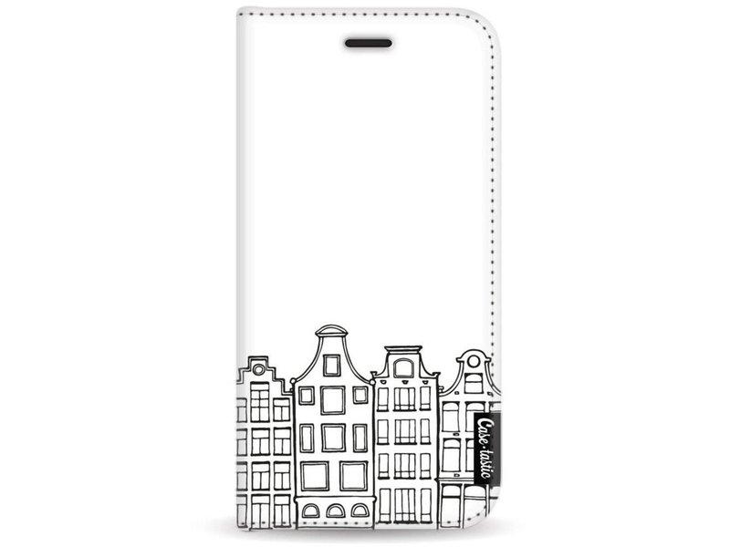 Casetastic Wallet Case White Motorola Moto G5 - Amsterdam Canal Houses
