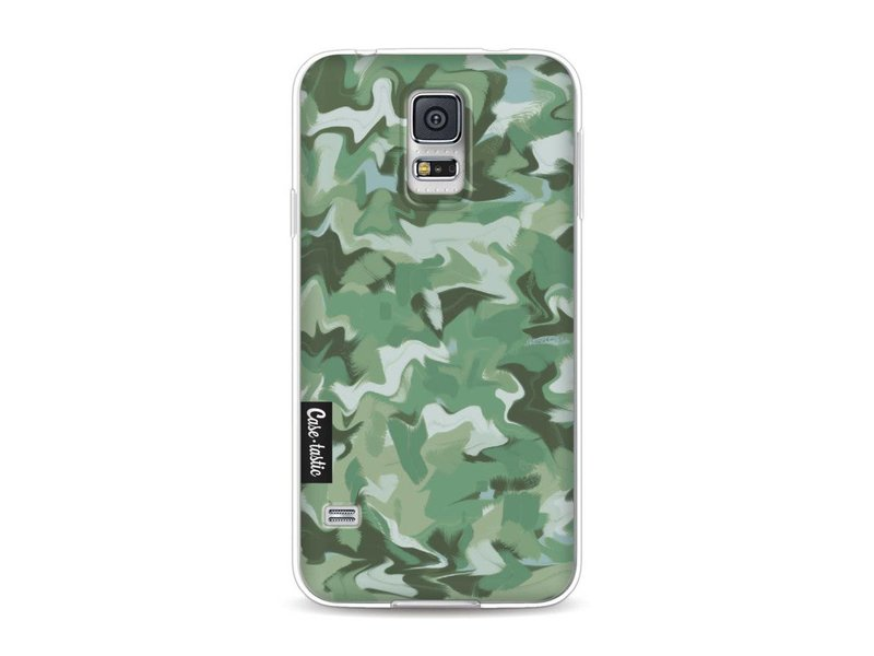 Casetastic Softcover Samsung Galaxy S5  - Army Camouflage