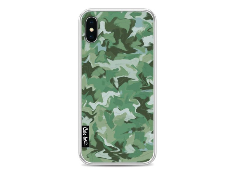 Casetastic Softcover Apple iPhone X - Army Camouflage