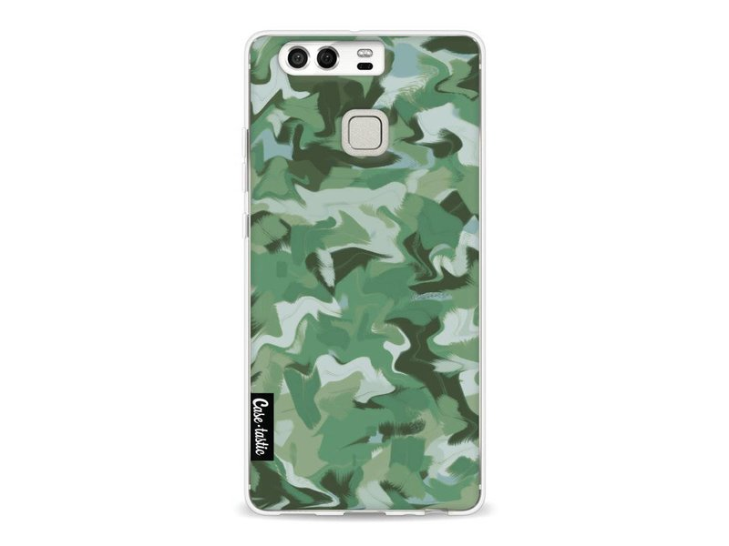 Casetastic Softcover Huawei P9 - Army Camouflage