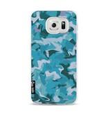 Casetastic Softcover Samsung Galaxy S6 - Aqua Camouflage