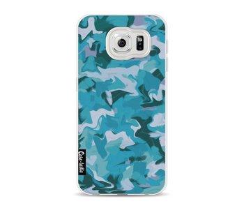 Aqua Camouflage - Samsung Galaxy S6