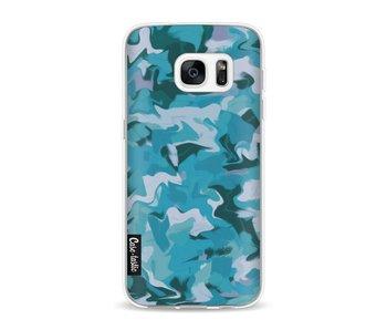Aqua Camouflage - Samsung Galaxy S7