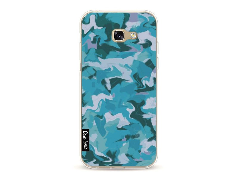 Casetastic Softcover Samsung Galaxy A5 (2017)  - Aqua Camouflage