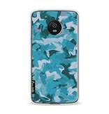 Casetastic Softcover Motorola Moto G5 - Aqua Camouflage