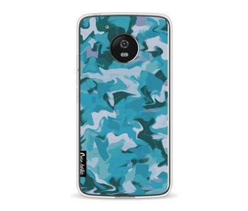 Aqua Camouflage - Motorola Moto G5