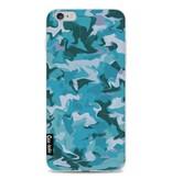 Casetastic Softcover Apple iPhone 6 Plus / 6s Plus - Aqua Camouflage