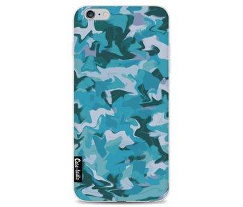 Aqua Camouflage - Apple iPhone 6 Plus / 6s Plus