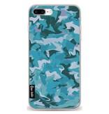 Casetastic Softcover Apple iPhone 7 Plus / 8 Plus - Aqua Camouflage