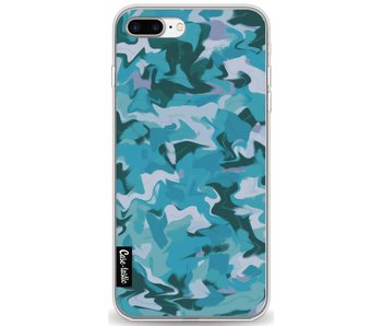 Aqua Camouflage - Apple iPhone 7 Plus / 8 Plus