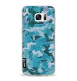 Casetastic Softcover Samsung Galaxy S7 Edge - Aqua Camouflage