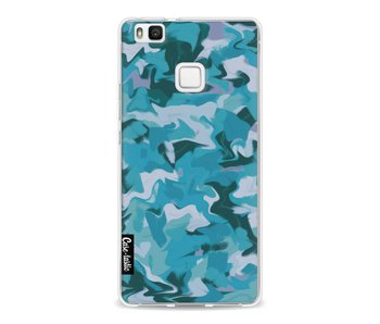 Aqua Camouflage - Huawei P9 Lite