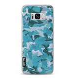 Casetastic Softcover Samsung Galaxy S8 - Aqua Camouflage