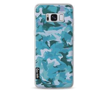Aqua Camouflage - Samsung Galaxy S8