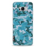 Casetastic Softcover Samsung Galaxy S8 Plus - Aqua Camouflage