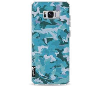 Aqua Camouflage - Samsung Galaxy S8 Plus