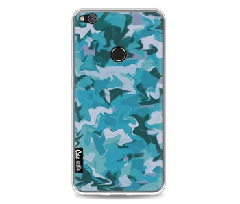 Aqua Camouflage - Huawei P8 Lite (2017)
