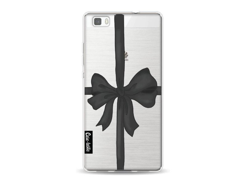 Casetastic Softcover Huawei P8 Lite - Black Ribbon