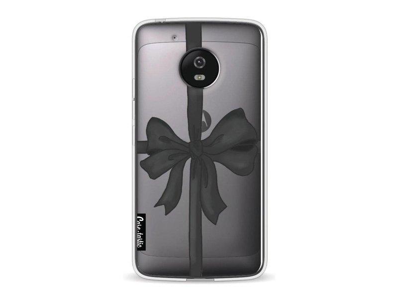 Casetastic Softcover Motorola Moto G5 - Black Ribbon