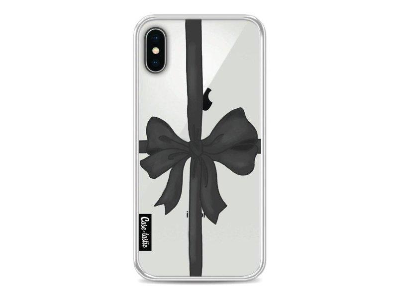 Casetastic Softcover Apple iPhone X - Black Ribbon