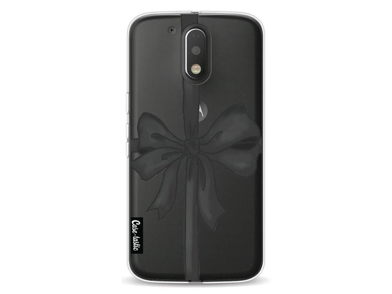Casetastic Softcover Motorola Moto G4 / G4 Plus - Black Ribbon