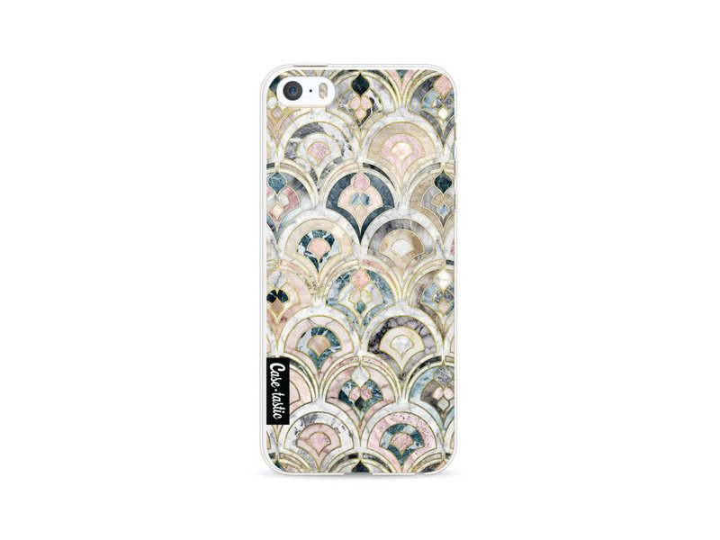 Casetastic Softcover Apple iPhone 5 / 5s / SE - Art Deco Marble Tiles